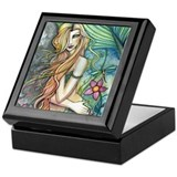 Colorful Mermaid Keepsake Box