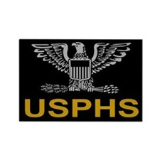 USPHS Captain<BR> Rectangle Magnet