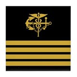 USPHS Captain<BR> Tile Coaster