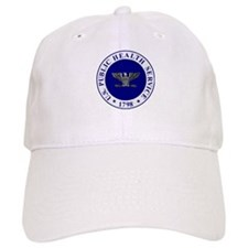 USPHS Baseball Captain<BR>White Baseball Cap
