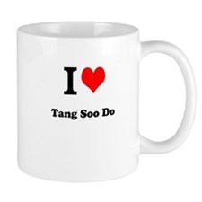 "I ""Heart"" Tang Soo Do Coffee Mug"