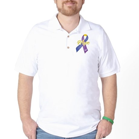 Hope Bladder Cancer Golf Shirt