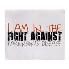 I AM IN THE FIGHT AGAINST (Throw Blanket)