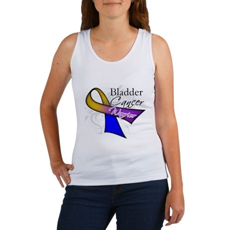 Warrior Bladder Cancer Women's Tank Top