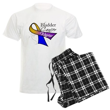 Warrior Bladder Cancer Men's Light Pajamas
