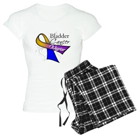 Warrior Bladder Cancer Women's Light Pajamas