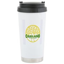 Oakland Pride Tree Light (www Ceramic Travel Mug