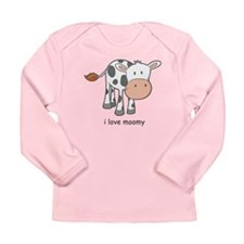 i love moomy Long Sleeve Infant T-Shirt