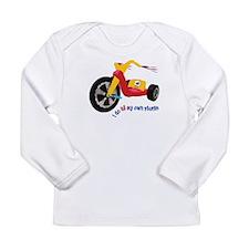 Big Wheel Long Sleeve Infant T-Shirt