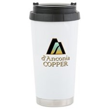 d'Anconia Copper Ceramic Travel Mug