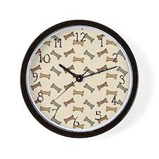 Bone Appetit Wall Clock