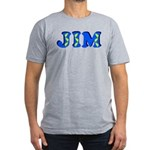 Jim Men's Fitted T-Shirt (dark)
