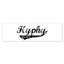 Hyphy Yay Area Bumper Bumper Sticker