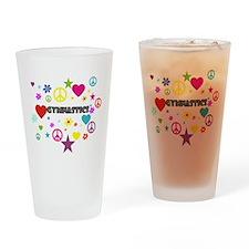 Gymnastics Mixed Graphic Drinking Glass