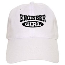 Engineer Girl Baseball Cap
