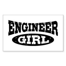 Engineer Girl Decal