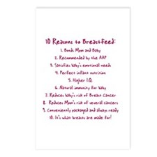 10 reasons Postcards (Package of 8)