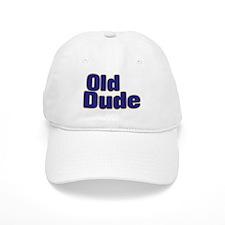 OLD DUDE (dark blue) Baseball Cap