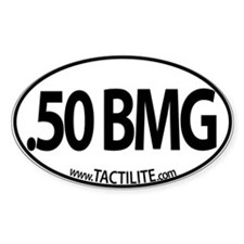 .50 BMG Euro Style Decal