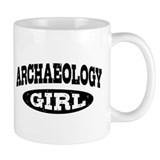 Archaeology Girl Mug