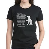 Van Gogh Dog Quote Tee