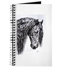 Frisian horse drawing Journal