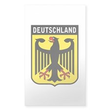 Deutschland Eagle Rectangle Decal