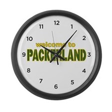 Packerland Large Wall Clock