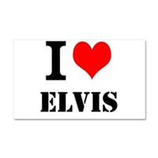 I love Elvis Car Magnet