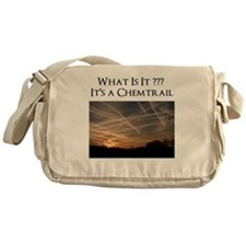 No Geoengineering Please Messenger Bag