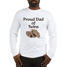 Proud Dad of Twins - Mitt Long Sleeve T-Shirt