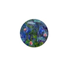 Monet - Water Lilies Mini Button
