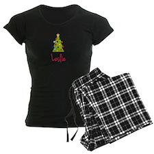Christmas Tree Leslie Pajamas