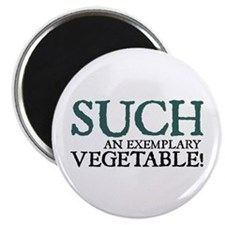 Jane Austen Vegetable Magnet
