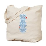 Secretary Thank You Tote Bag