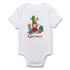 My First Christmas Santa Infant Bodysuit
