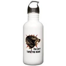 Can't tame the bear Water Bottle