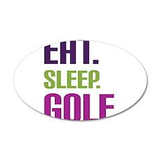 golf 22x14 Oval Wall Peel