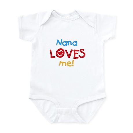 Nana Loves Me Infant Creeper