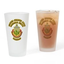 Army National Guard - Illinois Drinking Glass