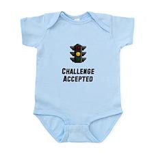 Challenge Accepted Light Infant Bodysuit