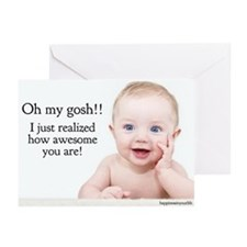 Funny Cheer up Greeting Cards (Pk of 20)