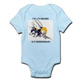 Green Bay Packer Seabee  Baby Onesie