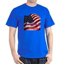 Proud to be American Black T-Shirt