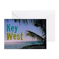 Key West Ocean Photo Greeting Card
