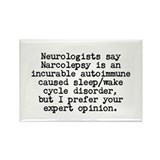 Cute Neurologist Rectangle Magnet