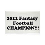 2011 fantasy football champion Magnet