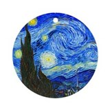 Van Gogh - Starry Night Ornament (Round)