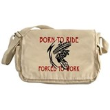 Born to Ride Messenger Bag