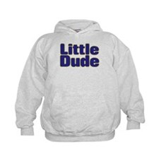 LITTLE DUDE (dark blue) Hoodie
